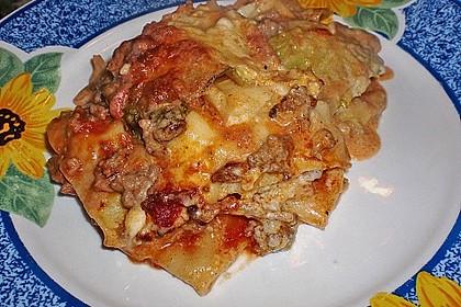 Wirsing-Lasagne 1