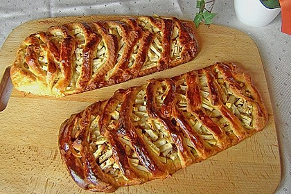 Apfelkuchen aus Hefemürbteig 61