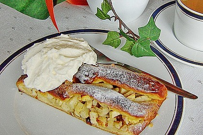 Apfelkuchen aus Hefemürbteig 89