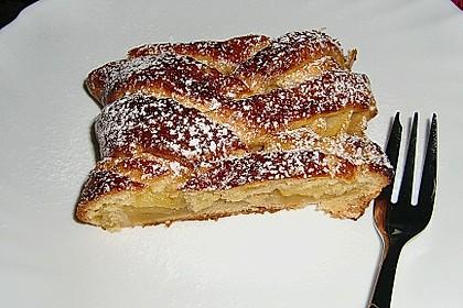 Apfelkuchen aus Hefemürbteig 86