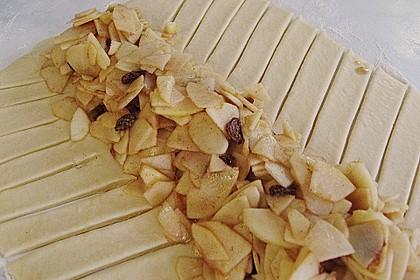 Apfelkuchen aus Hefemürbteig 44