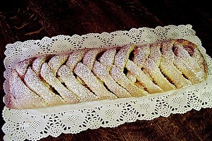 Apfelkuchen aus Hefemürbteig 13