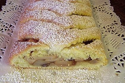Apfelkuchen aus Hefemürbteig 17