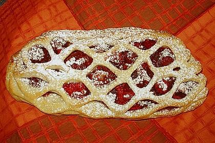 Apfelkuchen aus Hefemürbteig 99