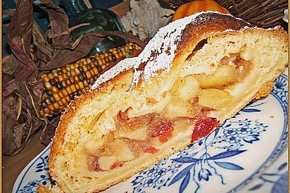 Apfelkuchen aus Hefemürbteig 65