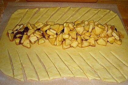 Apfelkuchen aus Hefemürbteig 77
