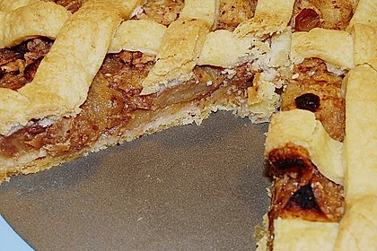 Apfelkuchen aus Hefemürbteig 103