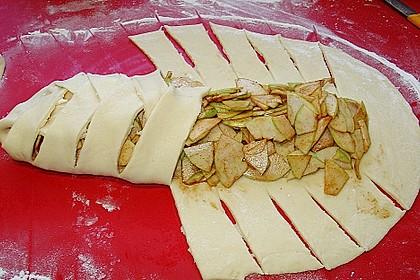 Apfelkuchen aus Hefemürbteig 71