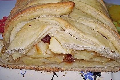 Apfelkuchen aus Hefemürbteig 63
