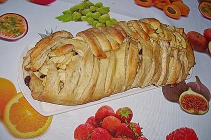 Apfelkuchen aus Hefemürbteig 106
