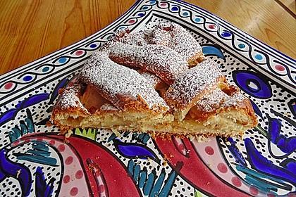 Apfelkuchen aus Hefemürbteig 62