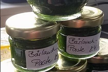 Bärlauch-Gewürzpaste 2