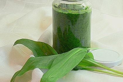 Bärlauch-Gewürzpaste