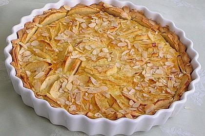 Apfelkuchen mit Amaretto - Sahne - Guss 1