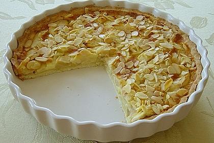 Apfelkuchen mit Amaretto - Sahne - Guss 4