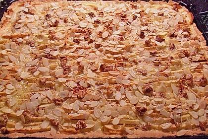 Apfelkuchen mit Amaretto - Sahne - Guss 49