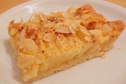 Apfelkuchen mit Amaretto - Sahne - Guss 17