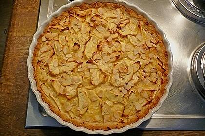 Apfelkuchen mit Amaretto - Sahne - Guss 16