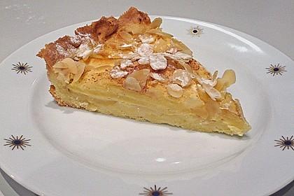 Apfelkuchen mit Amaretto - Sahne - Guss 3