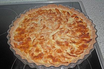 Apfelkuchen mit Amaretto - Sahne - Guss 12