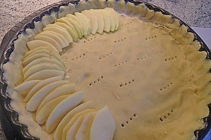 Apfelkuchen mit Amaretto - Sahne - Guss 41