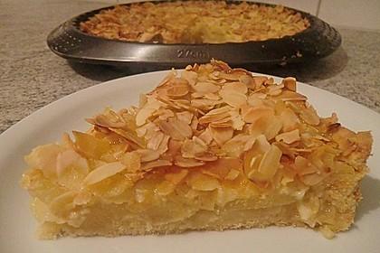Apfelkuchen mit Amaretto - Sahne - Guss 7