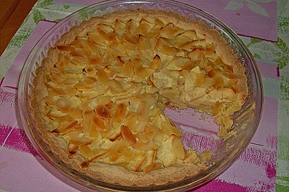 Apfelkuchen mit Amaretto - Sahne - Guss 40