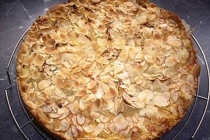 Apfelkuchen mit Amaretto - Sahne - Guss 47