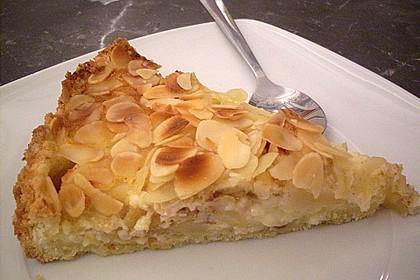 Apfelkuchen mit Amaretto - Sahne - Guss 22