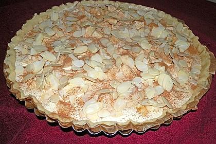 Apfelkuchen mit Amaretto - Sahne - Guss 51
