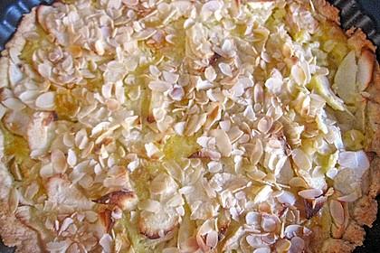 Apfelkuchen mit Amaretto - Sahne - Guss 52