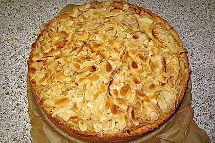 Apfelkuchen mit Amaretto - Sahne - Guss 39
