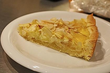 Apfelkuchen mit Amaretto - Sahne - Guss 46