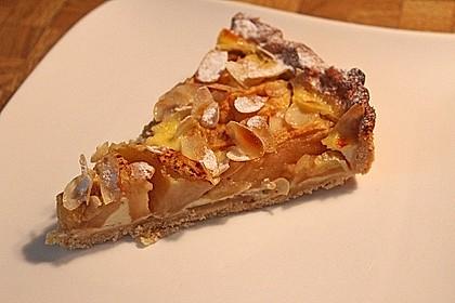 Apfelkuchen mit Amaretto - Sahne - Guss 20