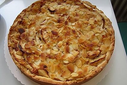 Apfelkuchen mit Amaretto - Sahne - Guss 45