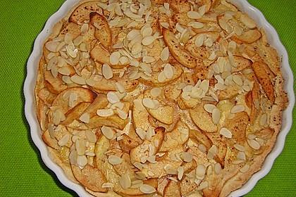 Apfelkuchen mit Amaretto - Sahne - Guss 13