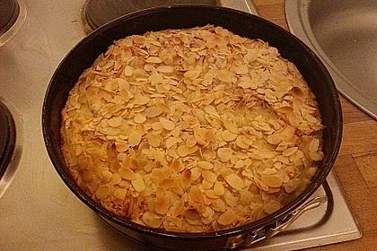 Apfelkuchen mit Amaretto - Sahne - Guss 10