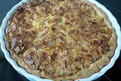 Apfelkuchen mit Amaretto - Sahne - Guss 30
