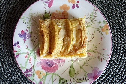 Apfelkuchen mit Amaretto - Sahne - Guss 29