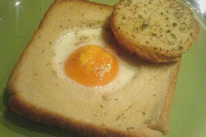 Eier im Toastbrot mit Rosmarin - Butter 43