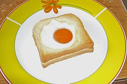 Eier im Toastbrot mit Rosmarin - Butter 41