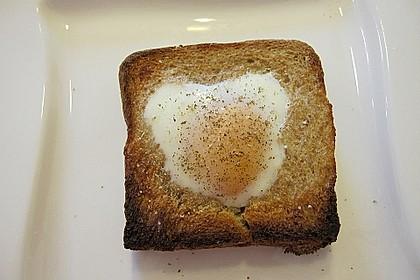 Eier im Toastbrot mit Rosmarin - Butter 53