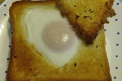 Eier im Toastbrot mit Rosmarin - Butter 40