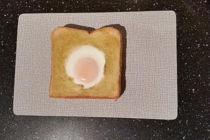 Eier im Toastbrot mit Rosmarin - Butter 21