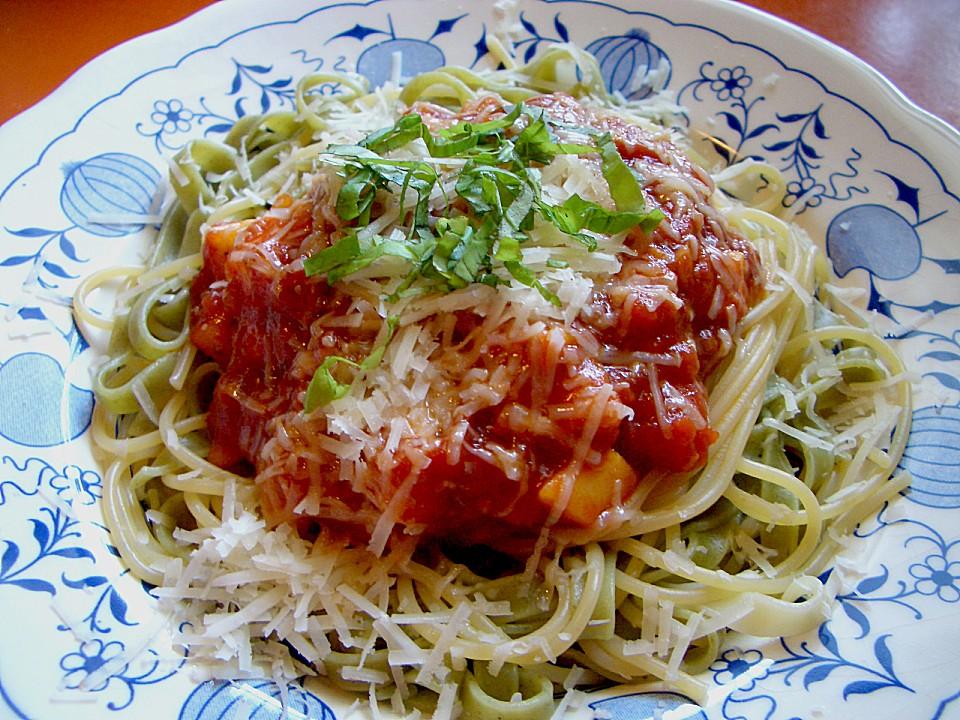 Spaghetti all' arrabbiata (scharf)