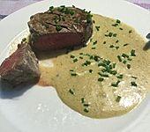 Brittas Rindersteak mit Käse - Sauce (Bild)