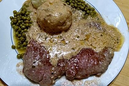 Brittas Rindersteak mit Käse - Sauce 7
