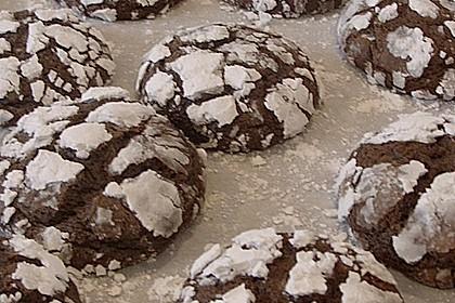 Schokolade - Minze - Kekse 2