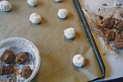Schokolade - Minze - Kekse 24