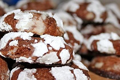 Schokolade - Minze - Kekse 6
